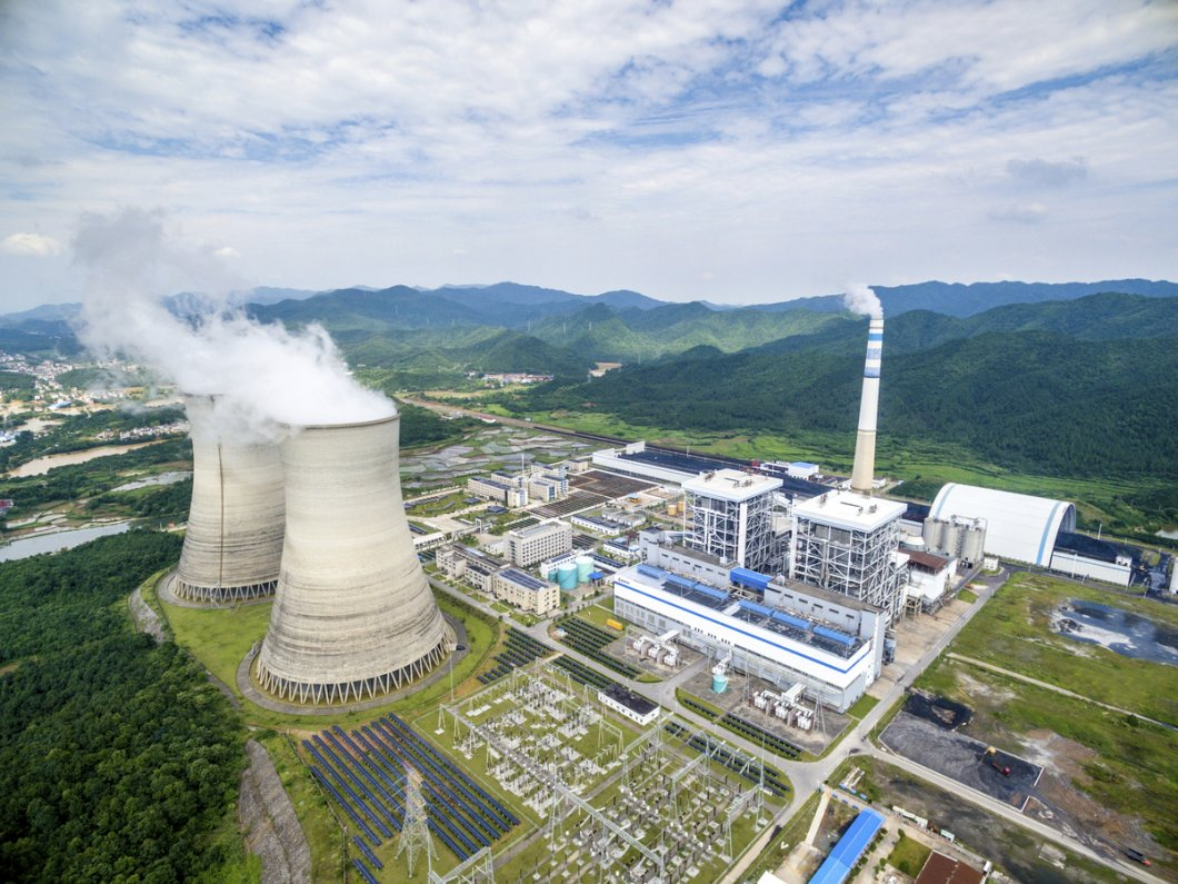 Management, maintenance and operation of large power plants